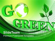 Helping The World Go Green PowerPoint Templates PPT Themes And Graphic