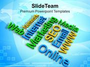Internet Marketing Business Analysis PowerPoint Templates PPT Themes A