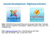 Joomla Website Development with Rightway Solution