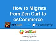 How to Migrate from Zen Cart to osCommerce