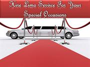 Hire Limo Service For Your Special Occasions
