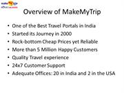 makemytrip Coupon Codes to get Discount at makemytrip.com