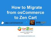 How to Migrate from osCommerce to Zen Cart