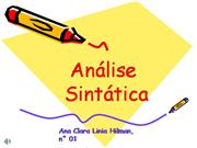 Portugues-Analise-Sintatica