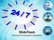 Opening Hours For Business Planning Strategy PowerPoint Templates PPT