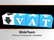 Vat Button Block Cube Success PowerPoint Templates PPT Themes And Grap