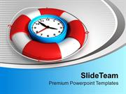 Time To Be Safe With Alarm Clock PowerPoint Templates PPT Themes And G