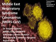 Middle East Respiratory Syndrome Coronavirus(MERS-CoV)