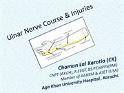ulnar nerve injury By Chaman Lal Karotia (CK)