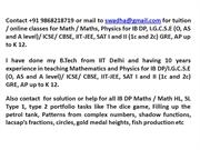 IB Math tuitions, IB Maths tuition, IB HL SL Math classes by exIITian