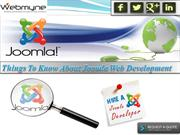 Joomla Web Development Services: The Most Powerful CMS
