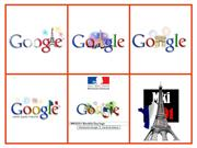 Google Bastille Day Logos (France)