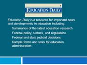 Education Daily