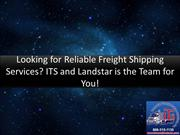Looking for Reliable Freight Shipping Services?