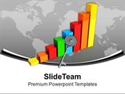 3d Bar Graph For Business Growth PowerPoint Templates PPT Themes And G
