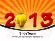 Wishes For New Year 2013 PowerPoint Templates PPT Themes And Graphics