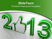 Feel Up In This New Year PowerPoint Templates PPT Themes And Graphics