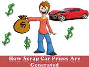 How Scrap Car Prices Are Generated