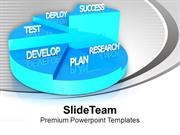 Pie Graph For Business Growth PowerPoint Templates PPT Themes And Grap