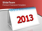 Set Monthly Targets This New Year PowerPoint Templates PPT Themes And