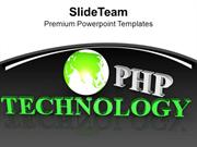 Use PHP For Web Application PowerPoint Templates PPT Themes And Graphi