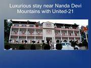 Luxurious stay near Nanda Devi Mountains with United-21
