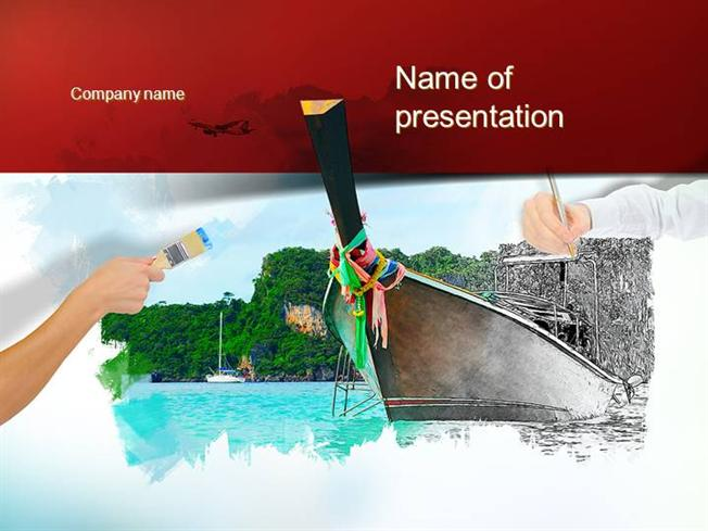 Fine arts powerpoint template authorstream toneelgroepblik Image collections