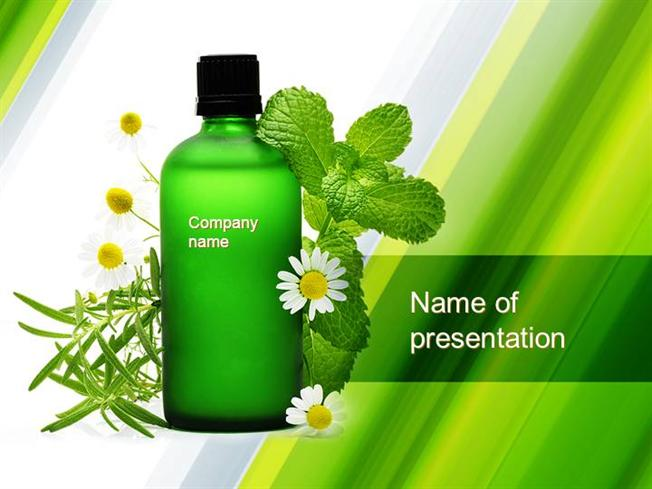 Essential oil powerpoint template authorstream toneelgroepblik Images