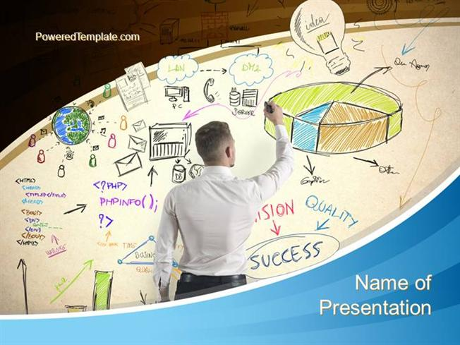 Startup business plan powerpoint template authorstream accmission