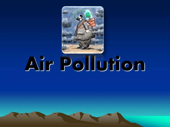 powerpoint presentation download on pollution