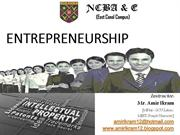 Entrepreneurship; Intellectual Property Rights (7)