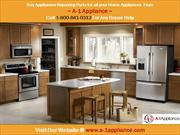 Repair Your Home Appliances With A-1 Appliance Parts