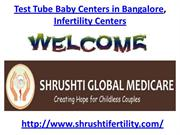Test Tube Baby Centers in Bangalore, Infertility Centers in Bangalore