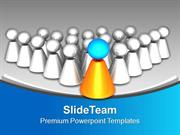 Be A Leader And Become Successful PowerPoint Templates PPT Themes And