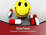 Be Happy With Medicine Science PowerPoint Templates PPT Themes And Gra