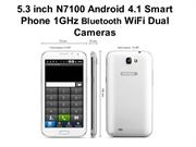 Hot Smart phone--5.3 inch N7100 Android 4.1 Smart Phone