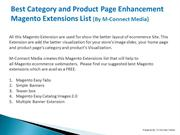 Top 5 Categories and Product Page Magento Extensions