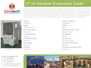 VT-24- Air cooler-Evaporative air cooler-industrial air cooler-port a