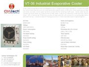 VT-36- Air cooler-Evaporative air cooler-industrial air cooler-port a