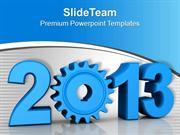 New Year Wishes Happy Theme PowerPoint Templates PPT Themes And Graphi
