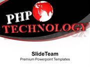 PHP Technology Is Capturing Market PowerPoint Templates Themes And Gra