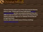 Chinese Moods Clothing