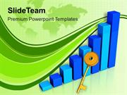 3d Business Bar Graph For Growth PowerPoint Templates PPT Themes And G