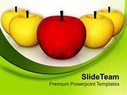 Apples Delicious Health Theme PowerPoint Templates PPT Themes And Grap