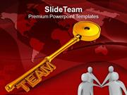 Best Team Is Key Of Success PowerPoint Templates PPT Themes And Graphi