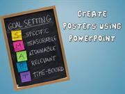 How to create posters in powerpoint 2013
