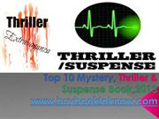 Top 10 Mystery, Thriller & Suspense book 2013