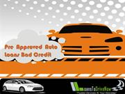 Pre Approved Car Loan Bad Credit Guaranteed Approval