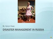 Disaster Management in Russia