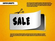 Coupon Concepts Shapes for PowerPoint